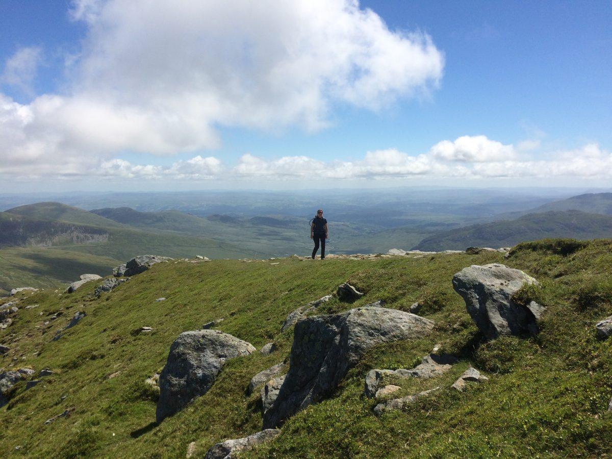 Carneddau climb