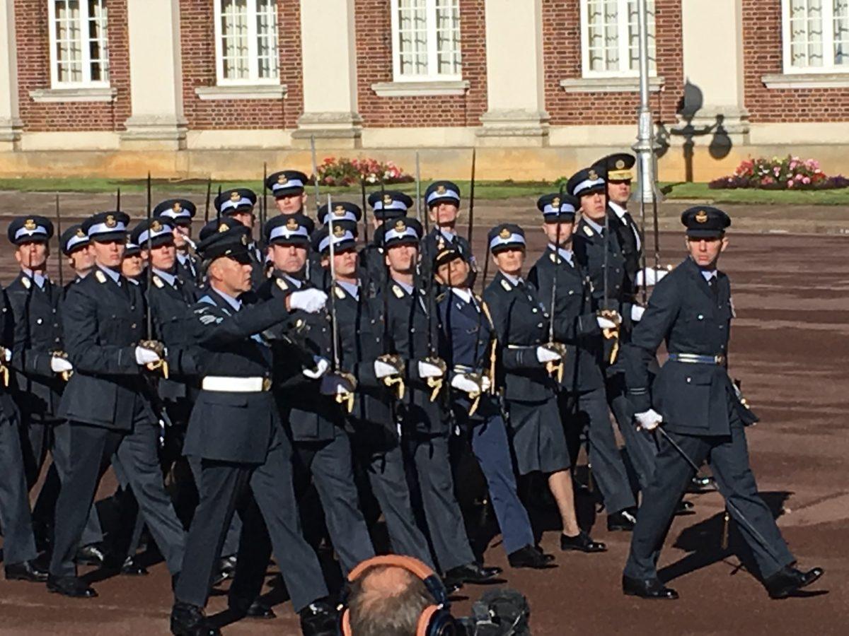 A RAF Graduation