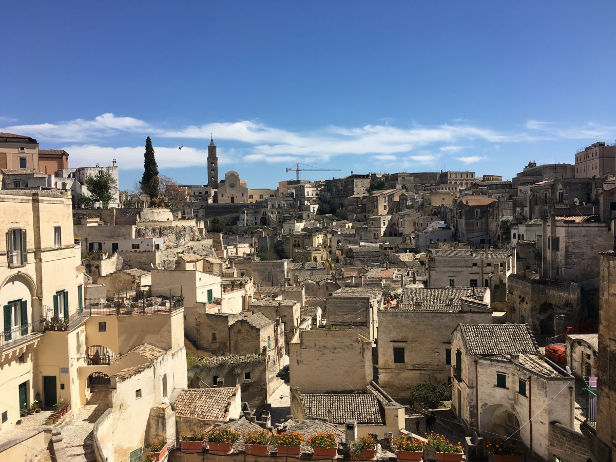 Troglodyte Living in Matera