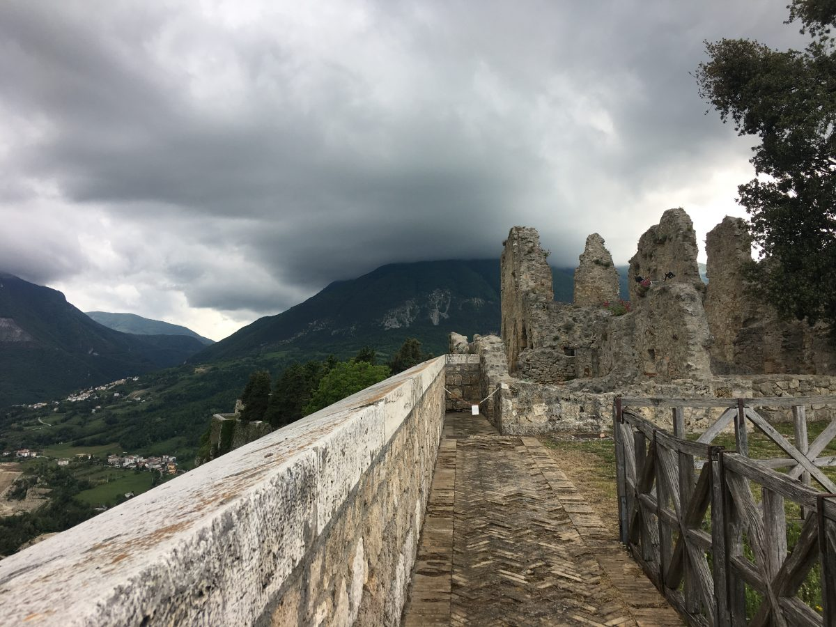 An Unexpected Stop in Civitella del Tronto