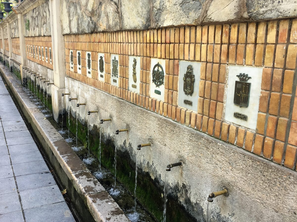 Segorbe: Waterfountains and Waterfalls